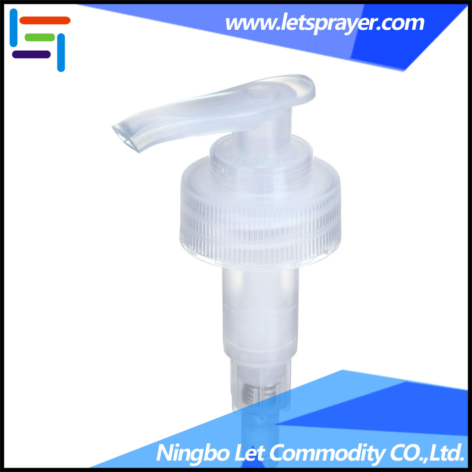 Screw shampoo lotion pump