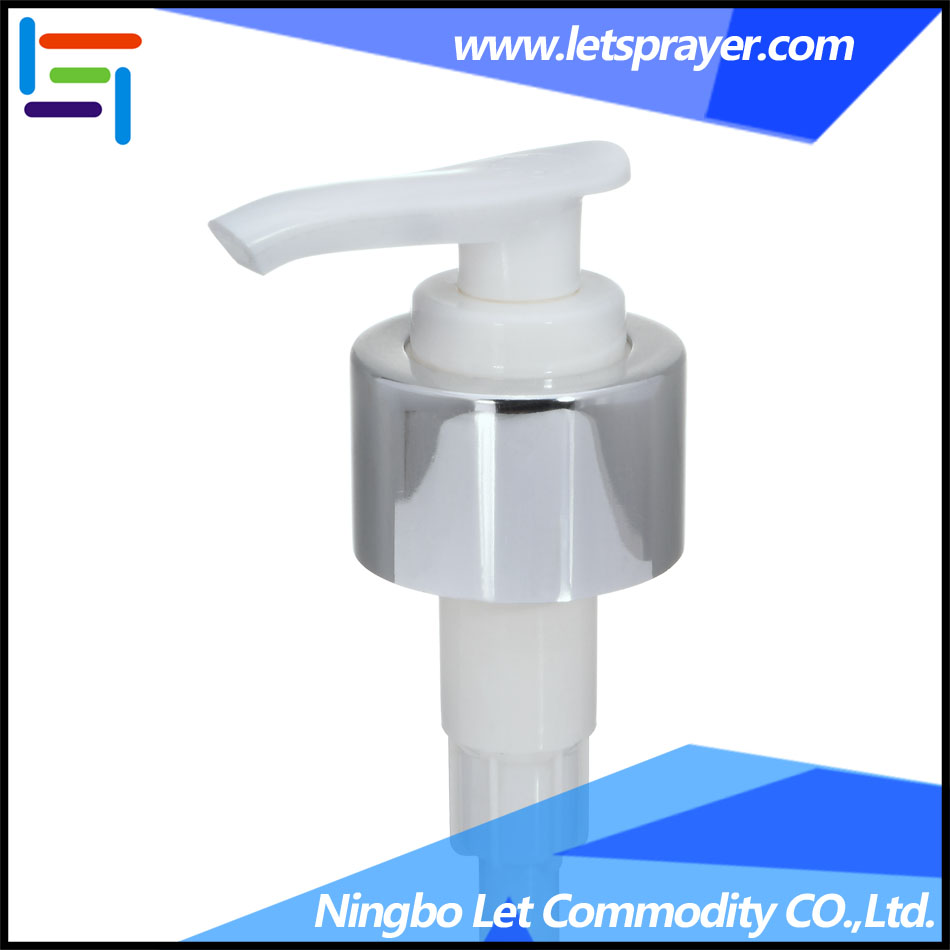 Shampoo Lotion Pump Manufacturer, Aluminum Lotion Pump-Ningbo Let Commodity CO., LTD. LP-12
